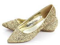 Женские балетки KARDI GOLD