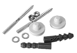 Крепеж для умывальника большой ф. 10/120 мм Cristal SA-U1