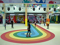 Спортивный линолеум Taraflex Surface, покрытие для тренажёрного зала, роллердрома, аэробики, сквоша,