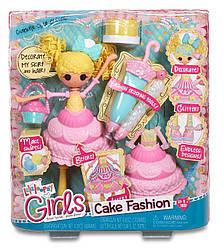 Лалалупси Пироженка кукла в наборе с аксессуарами Lalaloopsy Girls