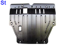 Защита картера VOLVO S80 v-2,9;2,0 c1998-2003г.