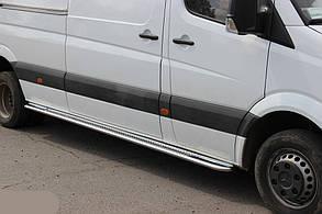 Боковые площадки (Premium) Mercedes Sprinter W906