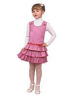 """М -918-2 Сарафан детский для девочки   рост 98 104  розовый тм """"Попелюшка"""""""