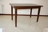 Стол из натурального деева раздвижной  «Явир 2» 1400(1800)х900