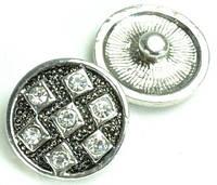 СБЧ1600-5-6-17 Кнопка чанка для браслета Noosa