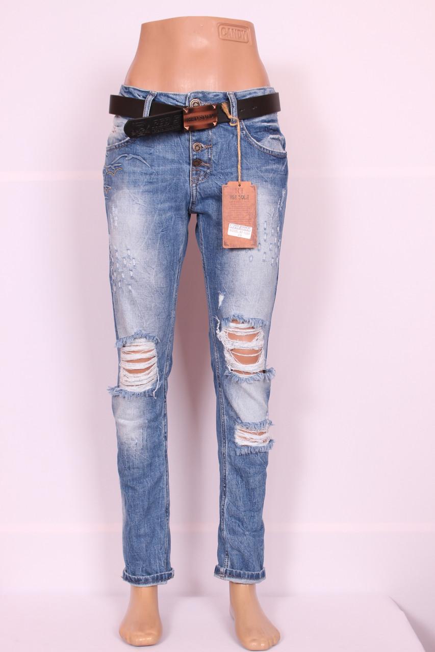 Турецкие джинсы в розницу со стразами