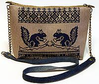 Женская сумочка Синие белки, фото 1