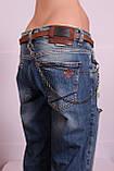 Женские турецкие рваные джинсы бойфренды EuroFashion, фото 4