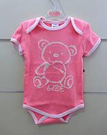 Боди с коротким рукавом для малышей. 68, 74
