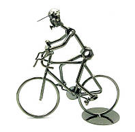 "Фігурка з металу ""Велосипедист"""