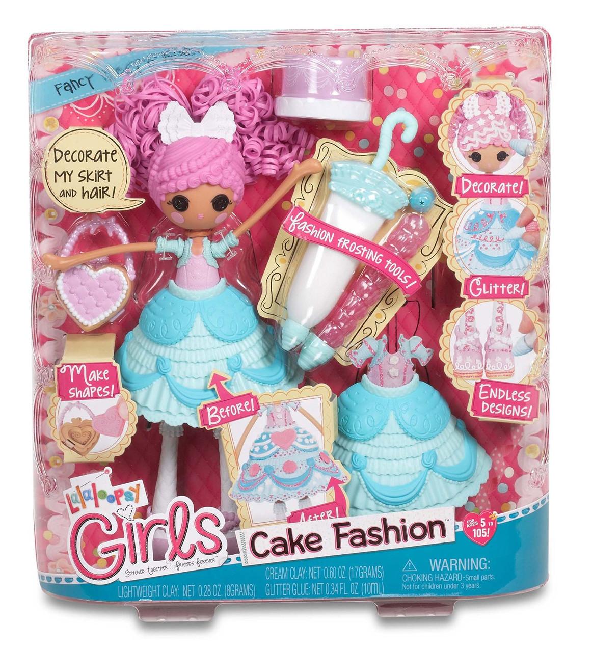 Лалалупси Сластена (глазурина) кукла в наборе с аксессуарами Lalaloopsy Girls