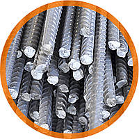 Арматура класу А240 (ст. 3пс/сп) Круг сталевий гарячекатаний ф 16 по ГОСТ 2590-88,