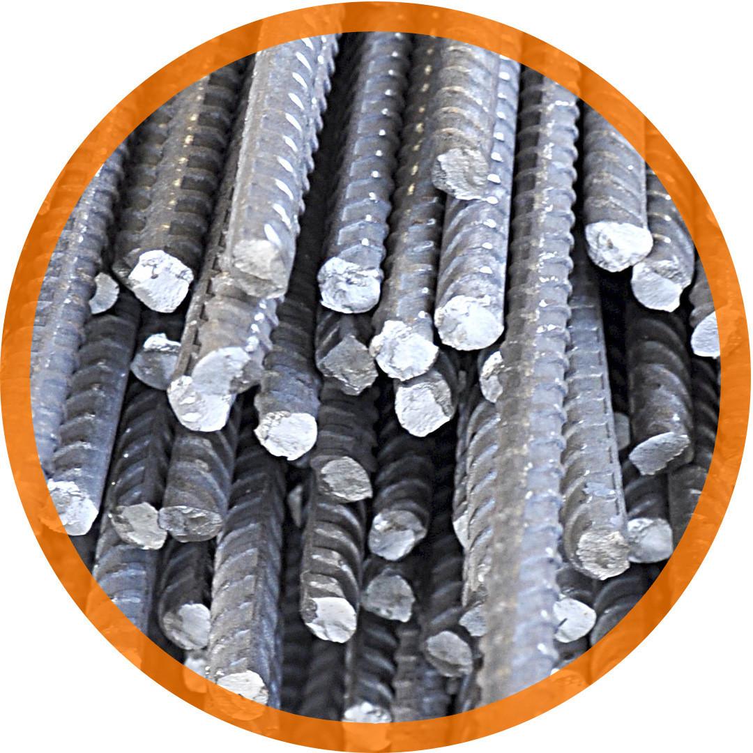 Арматура класу А240 (ст. 3пс/сп) Круг сталевий гарячекатаний ф 20 по ГОСТ 2590-88,