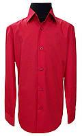 Рубашка детская красная  №12   506/19-1763