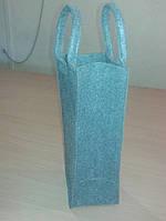 Фетровая подарочная сумка для вина
