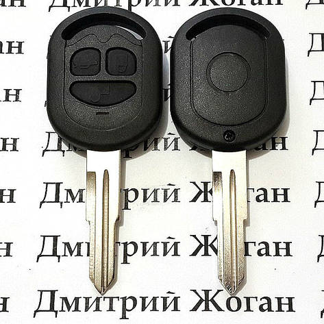 Корпус автоключа Chevrolet Lacetti (Шевролет) 3 кнопки, фото 2