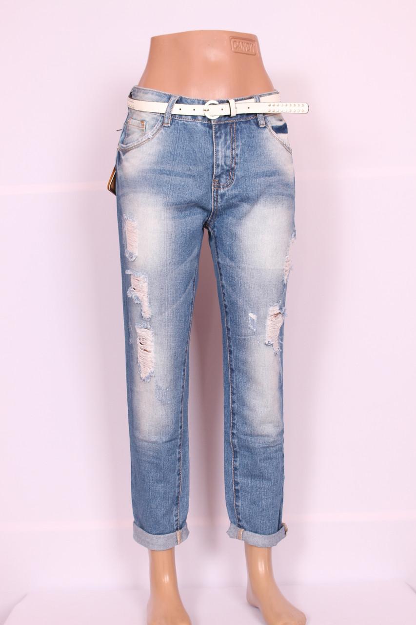 Женские джинсы бойфренды LDM большого размера LDM