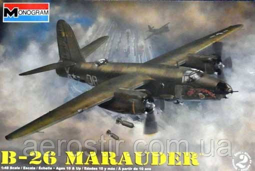 B-26 ' MARAUDER'   1\48   MONOGRAM 85-5529