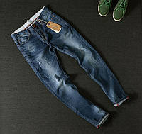 Качественные мужские джинсы Sea Horizon на лето. Удобные джинсы. Оригинальное качество. Код: КДН118