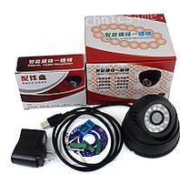 Камера c возможности записи на карту памяти  TF card TF CARD + DVR USB, техника для охраны