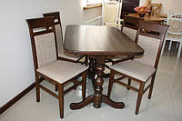 Стол раздвижной деревянный  «Явир 3» 1200(1600)х750
