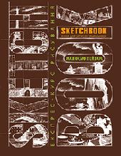 Скетчбук уроки рисования пейзажа А5 шоколад