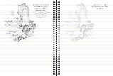Скетчбук уроки малювання пейзажу А5 шоколад, фото 4