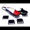 Машинка для стрижки волос Gemei GM - 1015 профессиональная сетевая машинка, фото 3