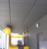 Подвесной кассетный потолок металлический