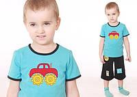 """Футболка для мальчика """"Трактор"""" р.74-128"""