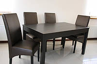 Стол для гостиной деревянный раздвижной «Явир 5»  1400(1800)х900