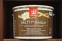 Масло для защиты дерева Валтти (Valtti Puuoli)Тиккурила ,9 л