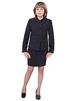 Пиджак школьный для девочки м-789  рост 146 и  164, фото 1