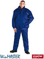 Комплект зимний рабочий синий REIS Польша (костюм утепленный рабочий) UMO-PLUS N