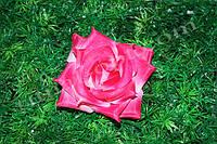 Шелковая чайная роза № 76, Ø 12,5см