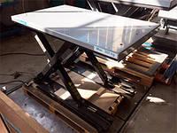 Подъемный стол с одинарными ножницами «Marco» 1350х800 мм