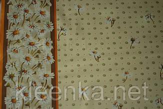 Клеёнка силиконовая непрозрачная Ромашковое поле, фото 2