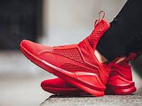 Женские кроссовки Puma x Rihanna Fenty Trainer красные, фото 1