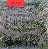 Бисер 10/0, цвет - нежно-салатовый (непрозрачный),  №58410 (уп.50 грамм)