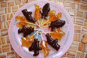 Алюминиевая форма для леденцов конфеты на палочке ну погоди, фото 2