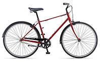 Городской велосипед Giant Via 3, красный/оранжевый 28, M/48 (GT)