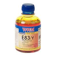 Чернила WWM E83 для Epson, 200г, Yellow, с повышенной светостойкостью