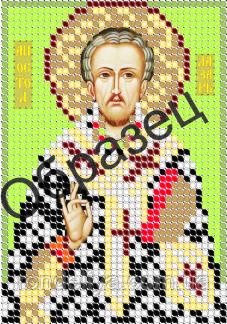 Схема для вишивки бісером « Апостол Лазар»