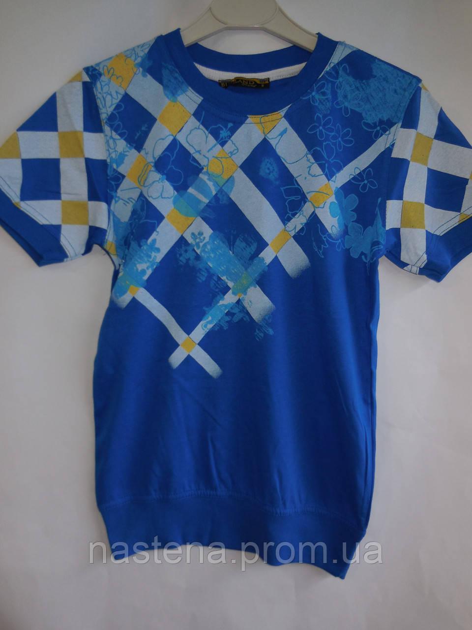 Летняя подростковая футболка для мальчиков BLUELAND
