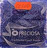 Бисер 10/0, цвет - синяя лазурь (с квадратным отверстием),  №66300  (уп.50 грамм)