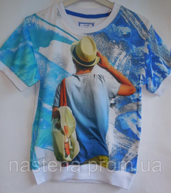 Детская футболка для мальчика разные цвета BLUELAND