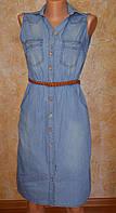 Сарафан - платье джинсовый