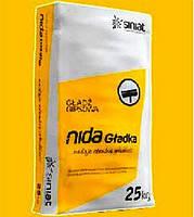 Гипсовая шпаклевка NIDA Gladka 25 кг