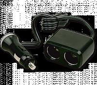 Разветвитель прикуривателя Auto Welle AW07-11 (2 гнезда 12V/24V, 70W)