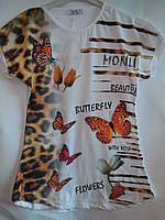 Детская одежда Турция для девочки футболка Monili, фото 1